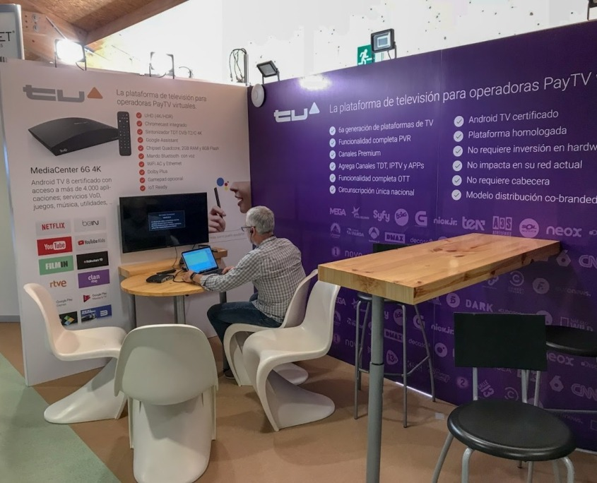 TV Up en AOTEC 18